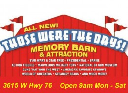 Those Were the Days Memory Barn