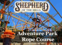 Shepherd of the Hills Adventure Park Rope Course
